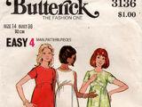 Butterick 3136 B