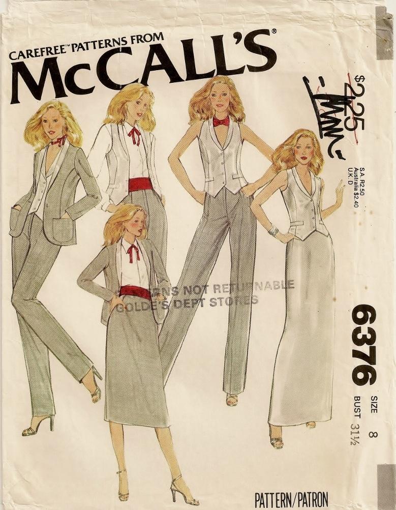 McCall's 6376