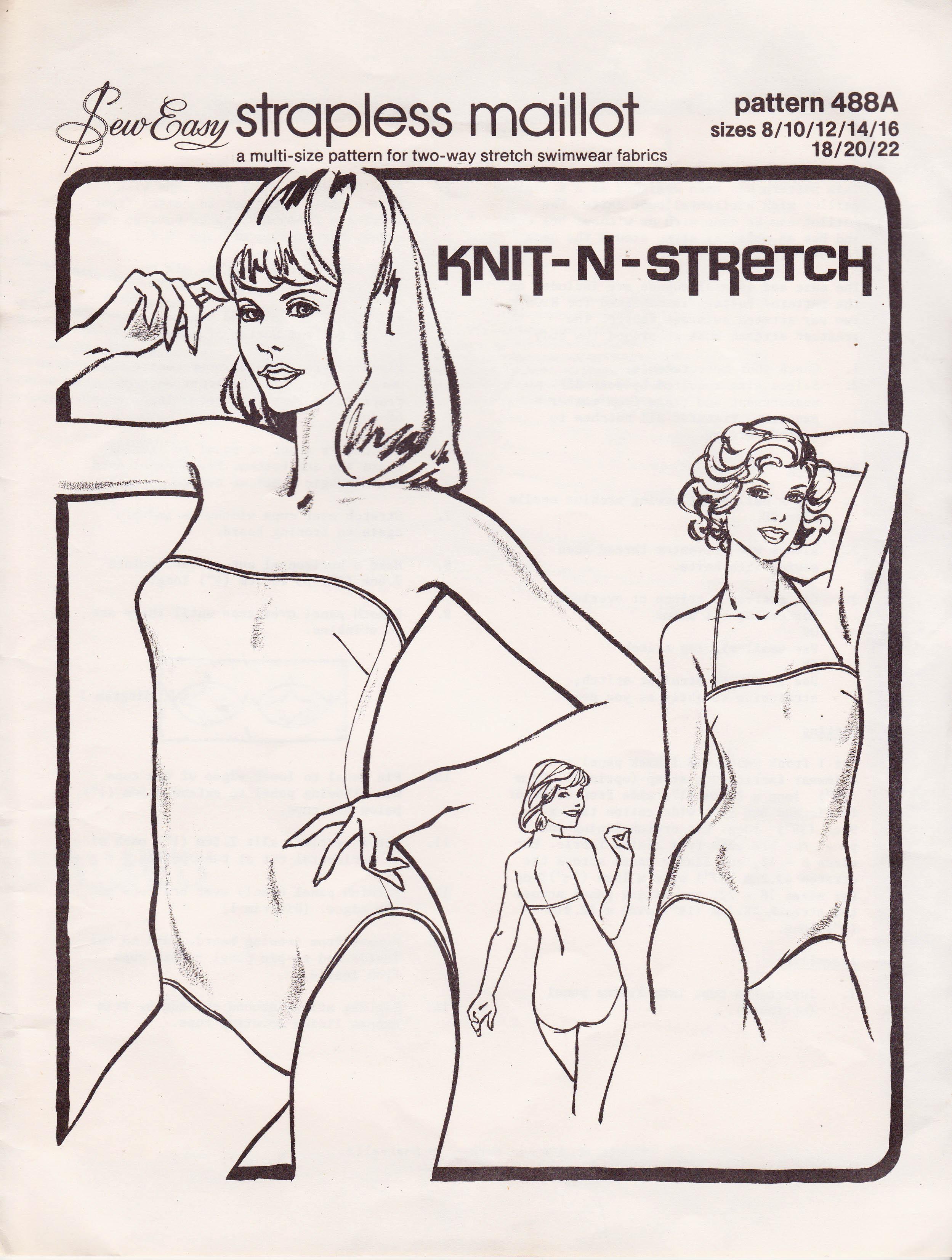 Knit-N-Stretch 488A