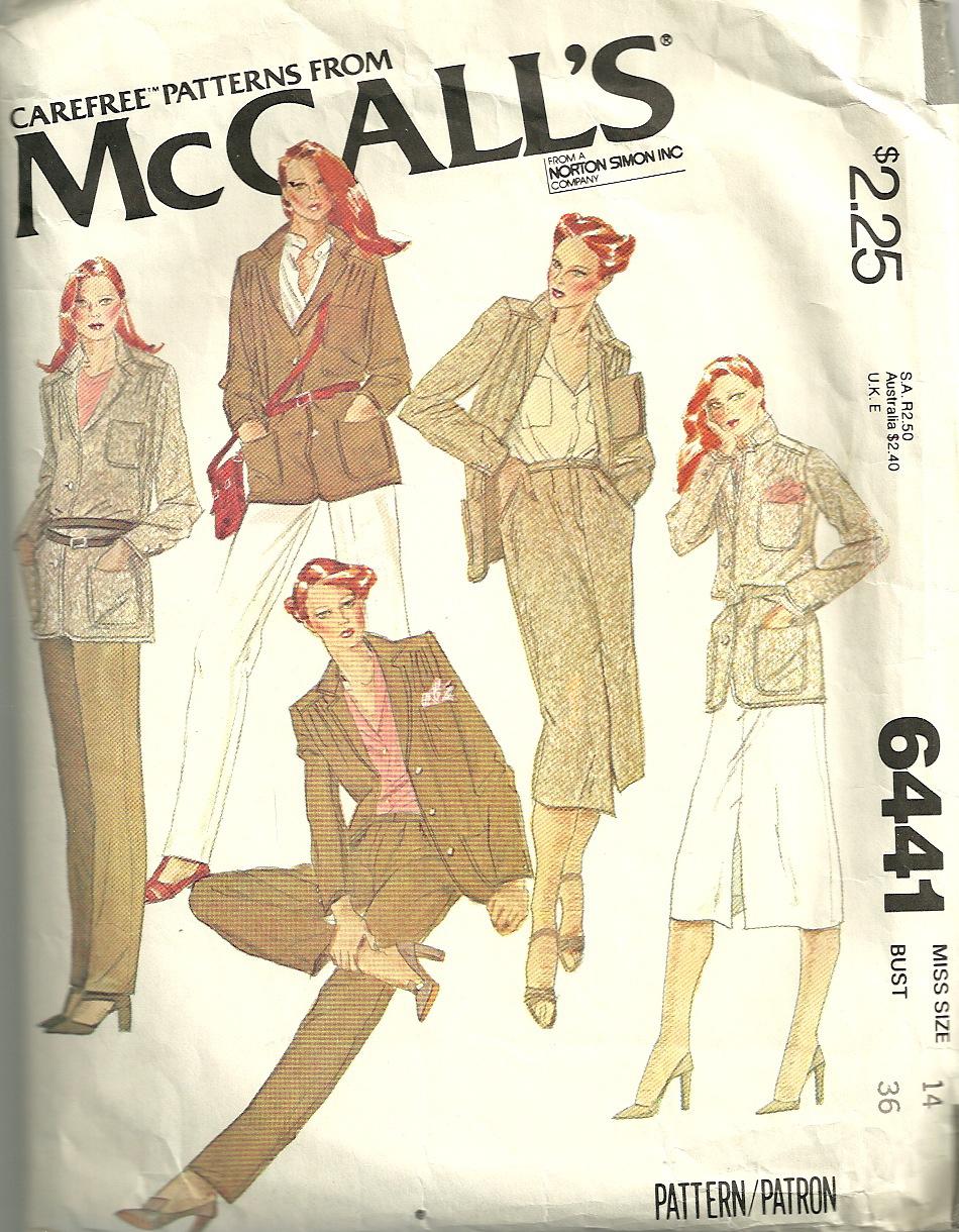 McCall's 6441