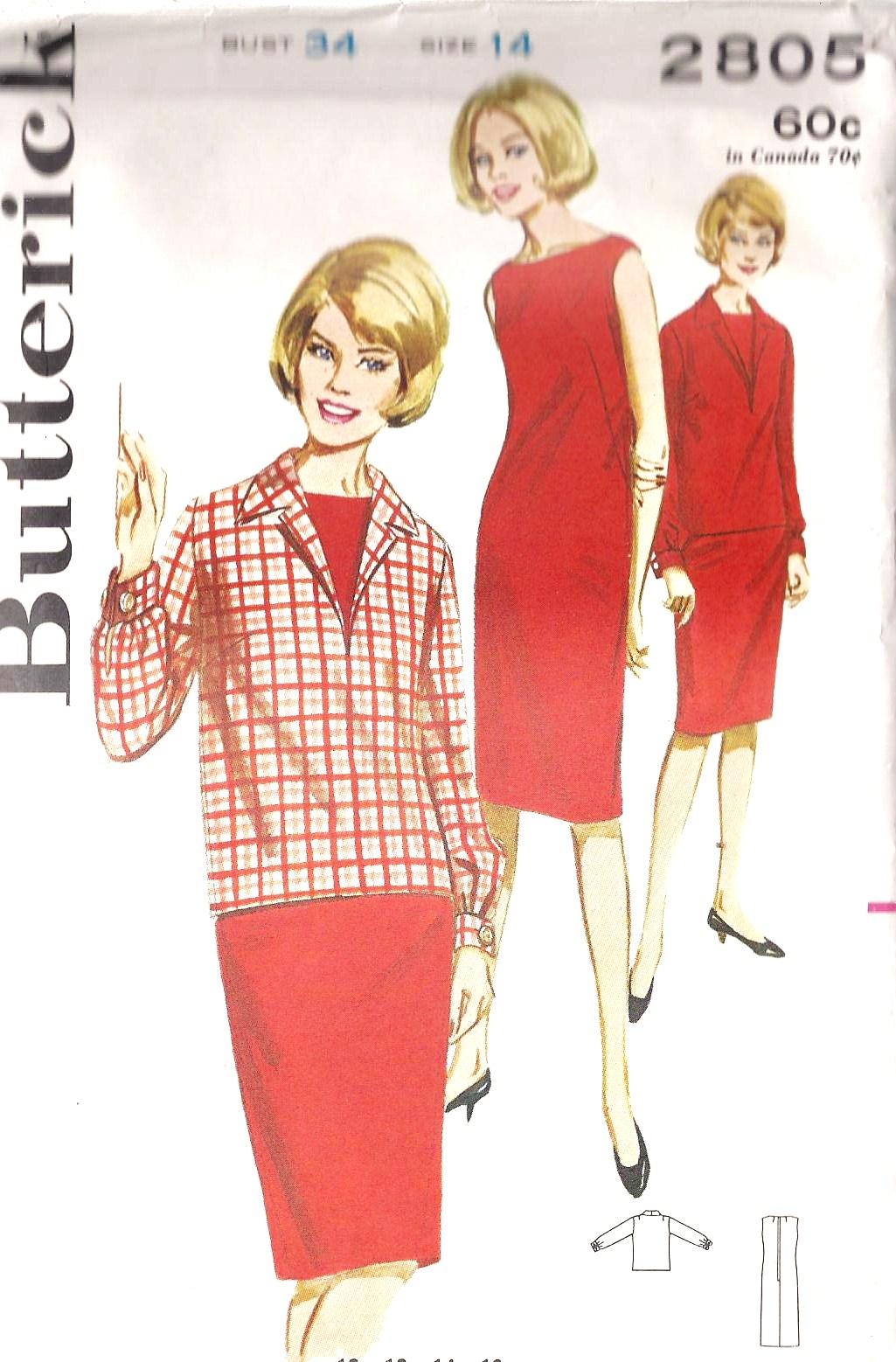 Butterick 2805