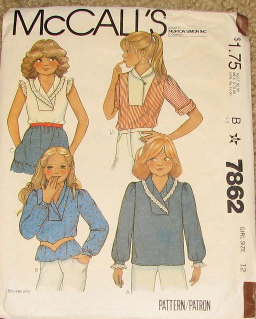 McCall's 7862
