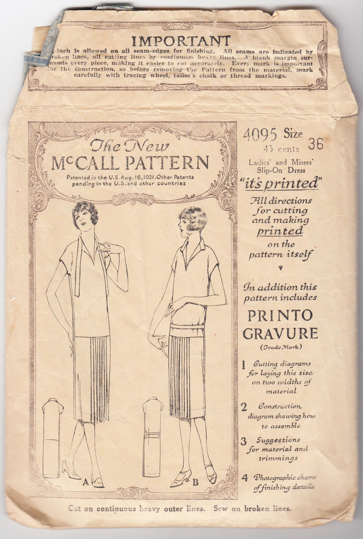 McCall 4095 A