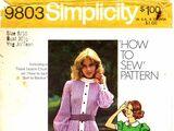 Simplicity 9803