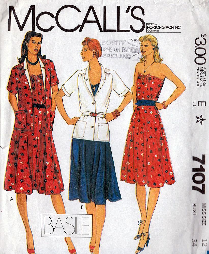 McCall's 7107 A