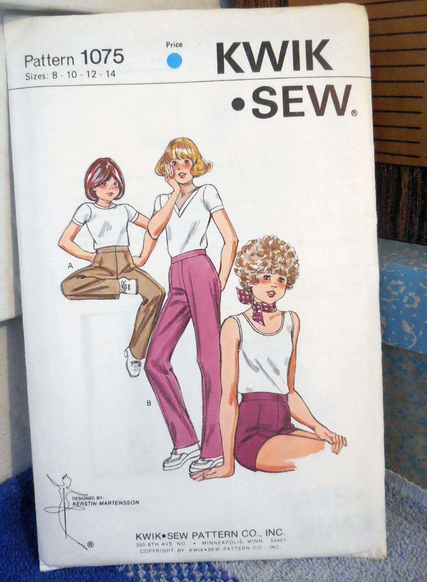 Kwik Sew 1075