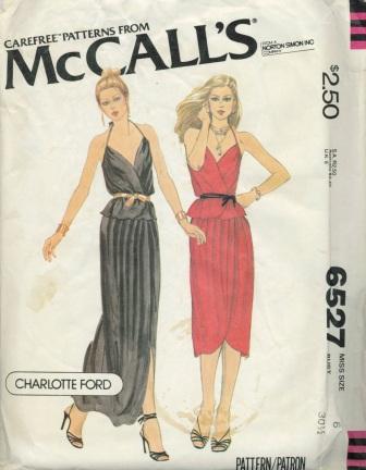 McCall's 6527 A