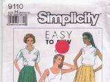 Simplicity 9110 B
