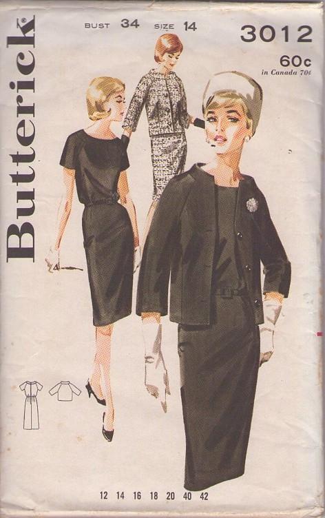 Butterick 3012 A