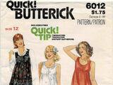 Butterick 6012