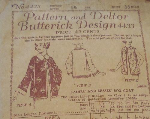 Butterick 4433 D