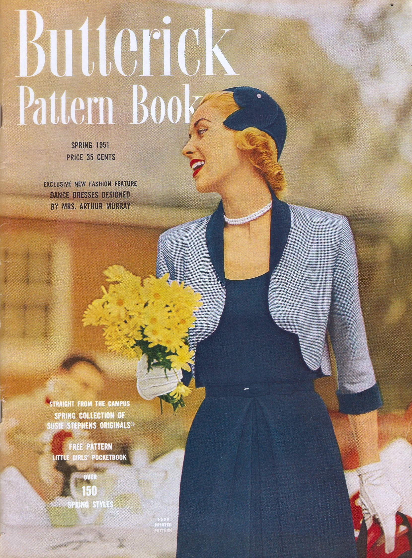 Butterick Pattern Book Spring 1951