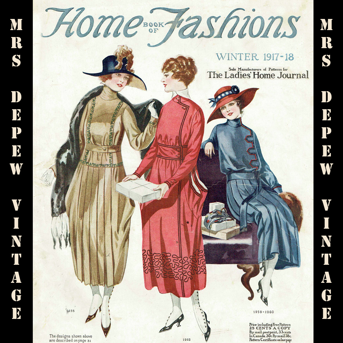 Home Book of Fashions Winter 1917-1918