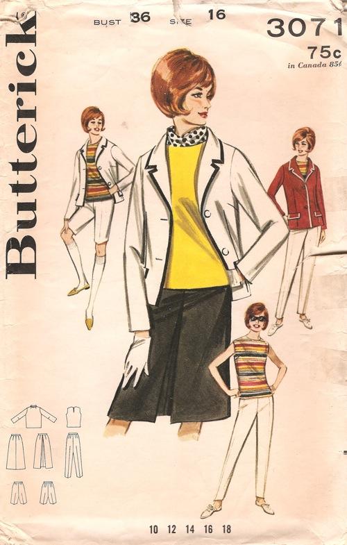 Butterick 3071