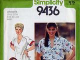 Simplicity 9436 A