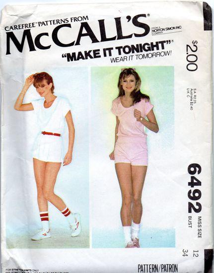 McCall's 6492 A