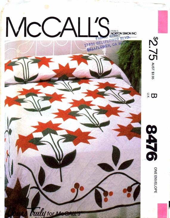 McCall's 8476 A