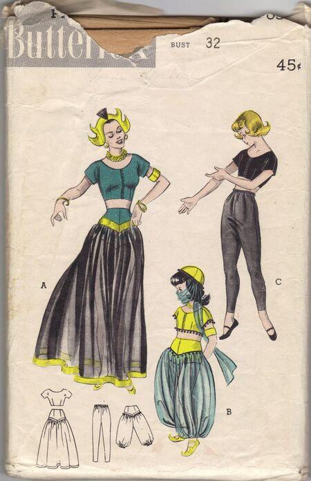 Dancing Girl, Turkish Girl, Ballet Dancer