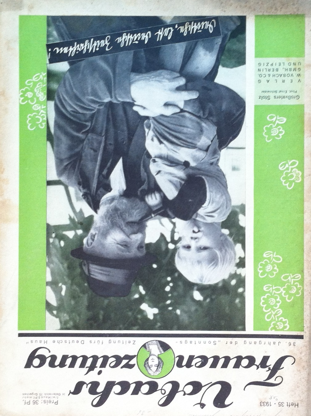 Vobachs Frauenzeitung No. 35 Vol. 36 1933