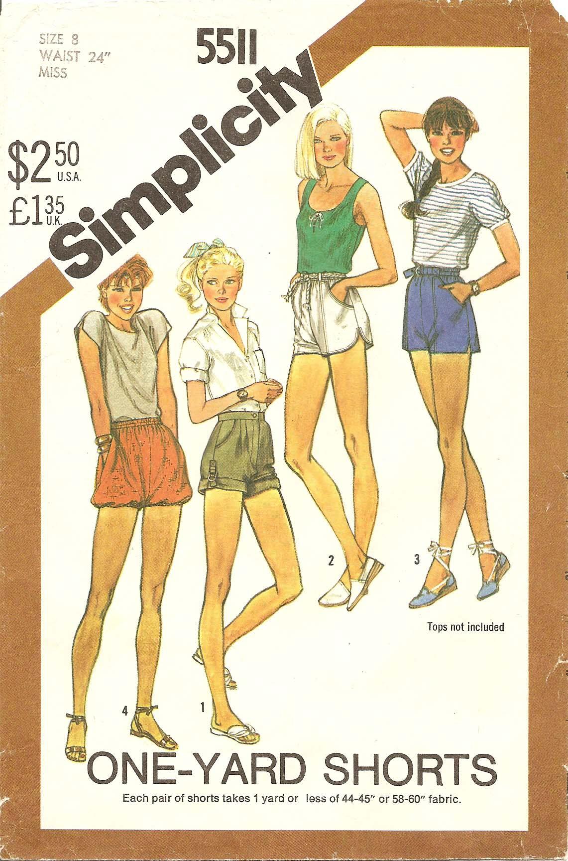 Simplicity 5511 B