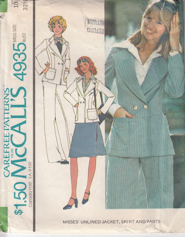 McCall's 4935 A