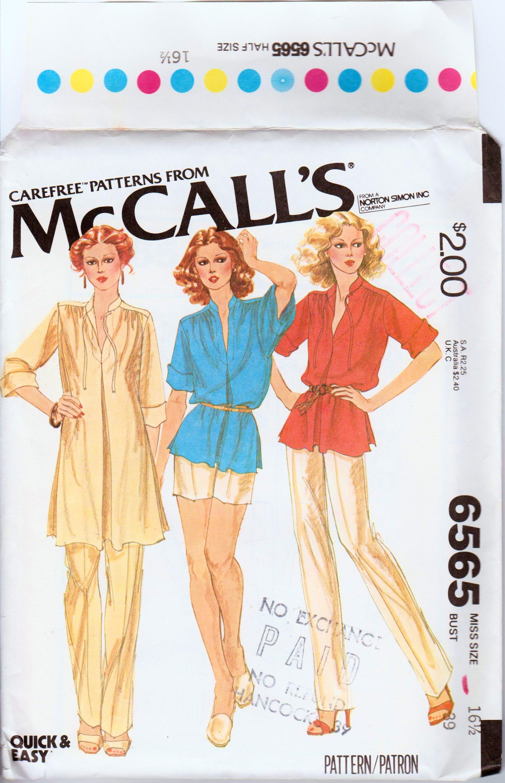 McCall's 6565 A