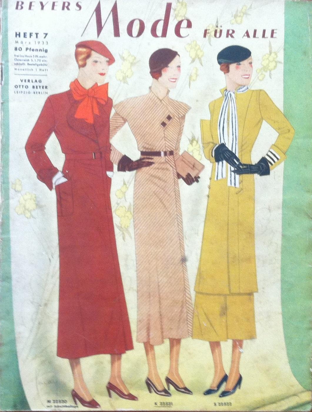 Beyers Mode für Alle No. 7 1933