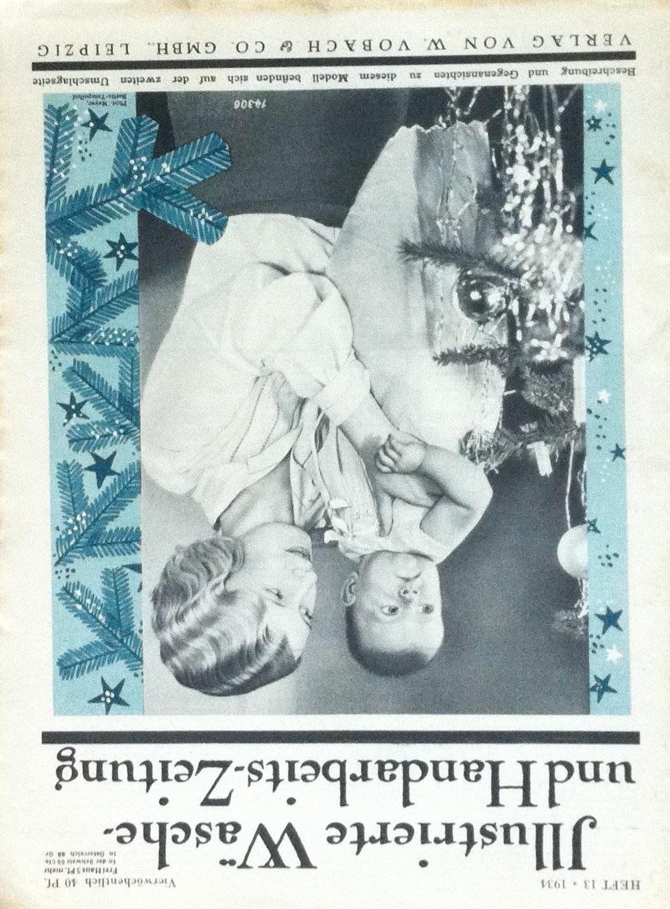 Illustrierte Wäsche- und Handarbeits-Zeitung No. 13 1934