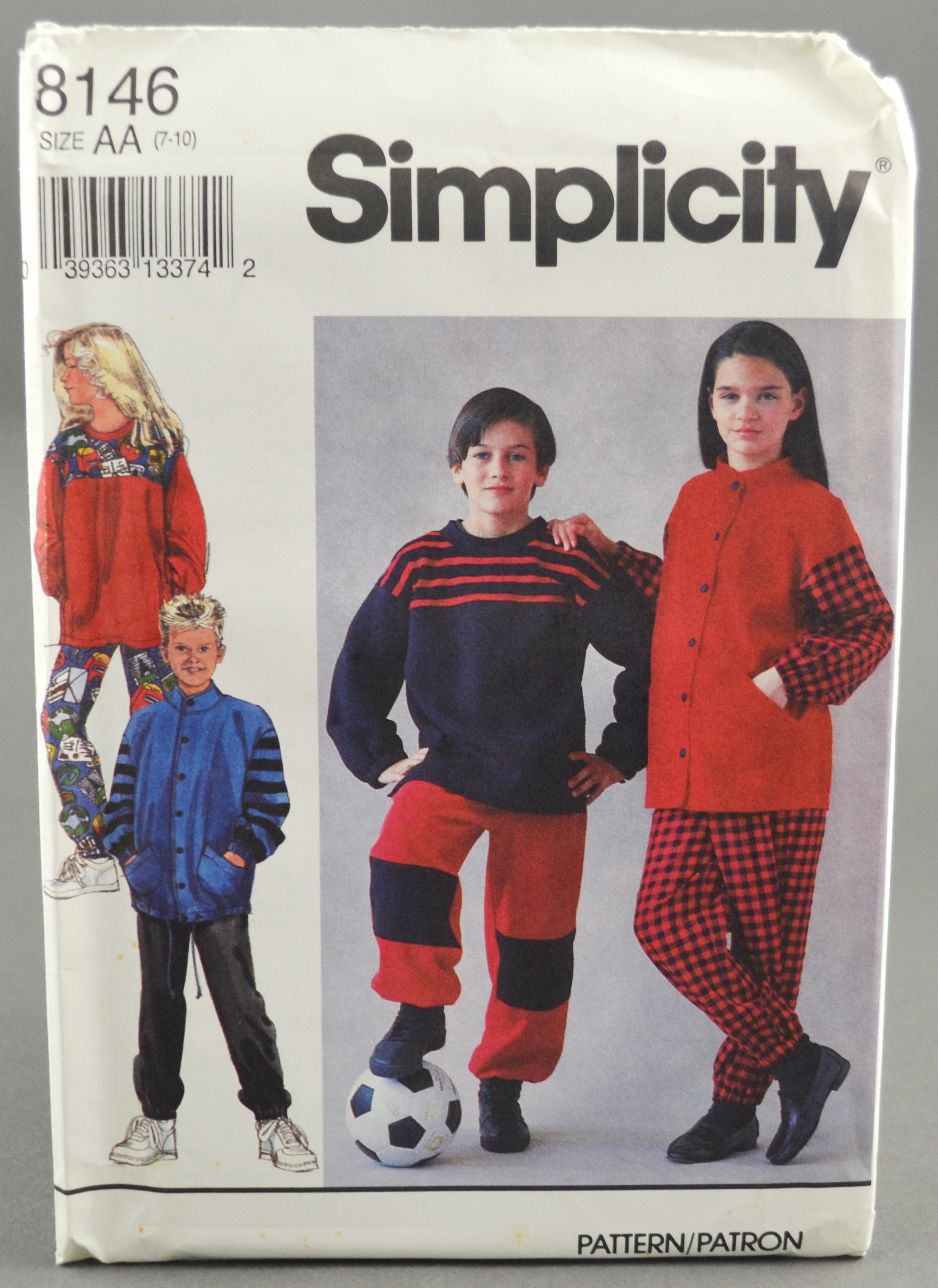 Simplicity 8146 C