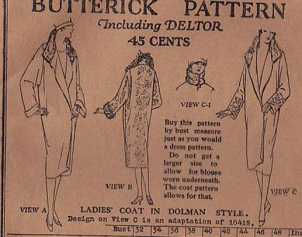 Butterick 1052