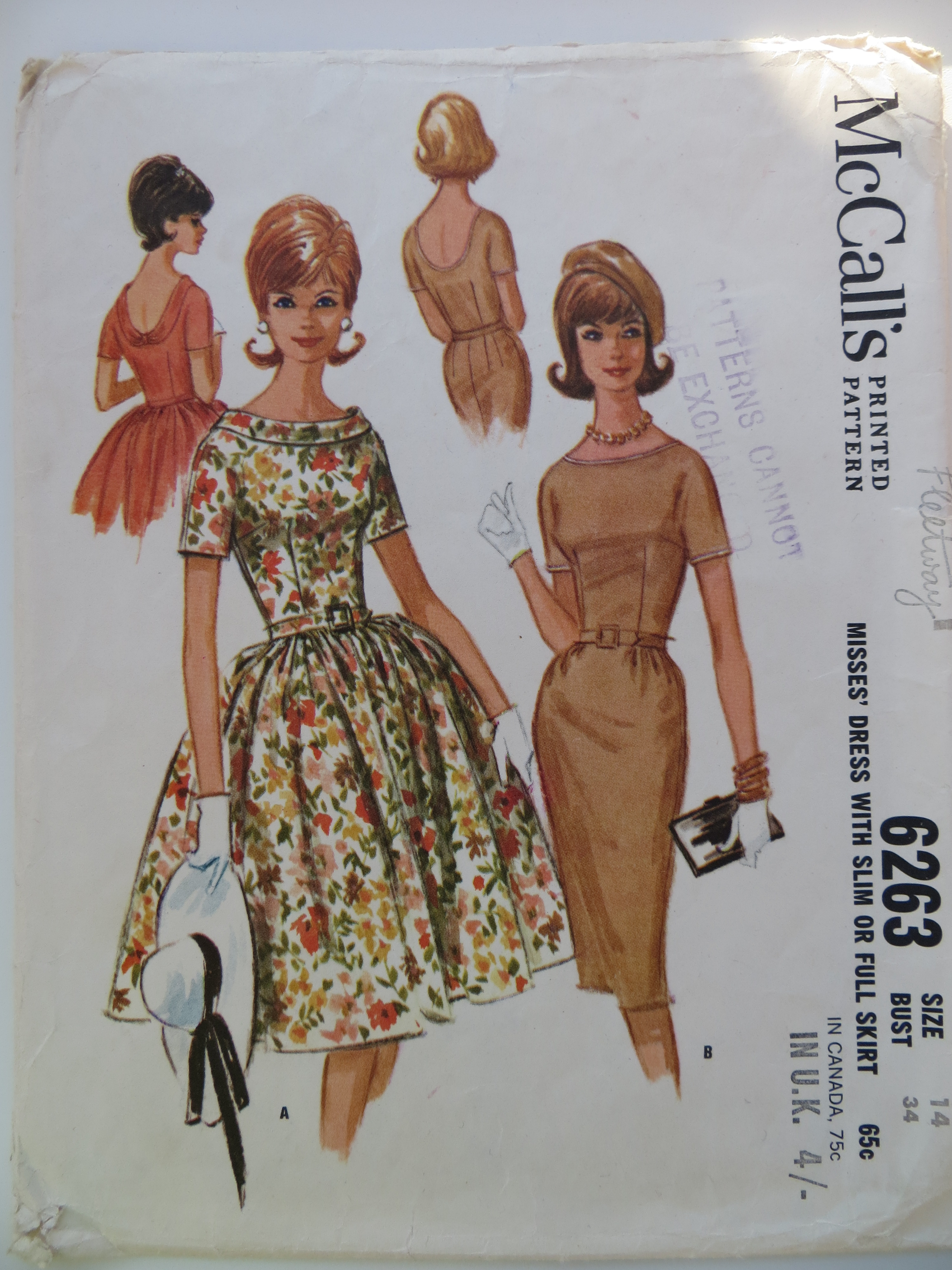 McCall's 6263 A