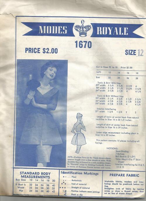 Modes Royale 1670