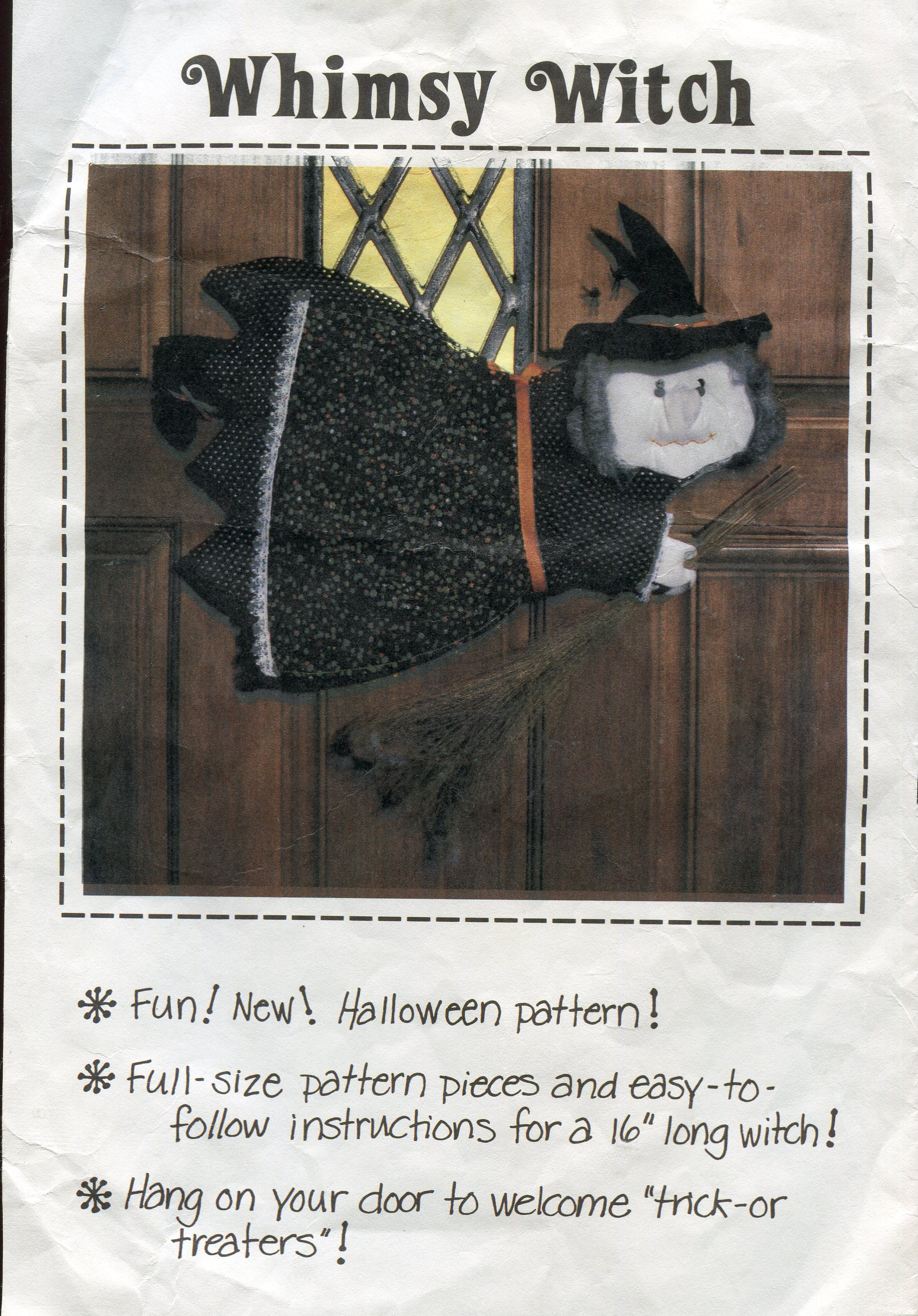 Patch Press Whimsy Witch