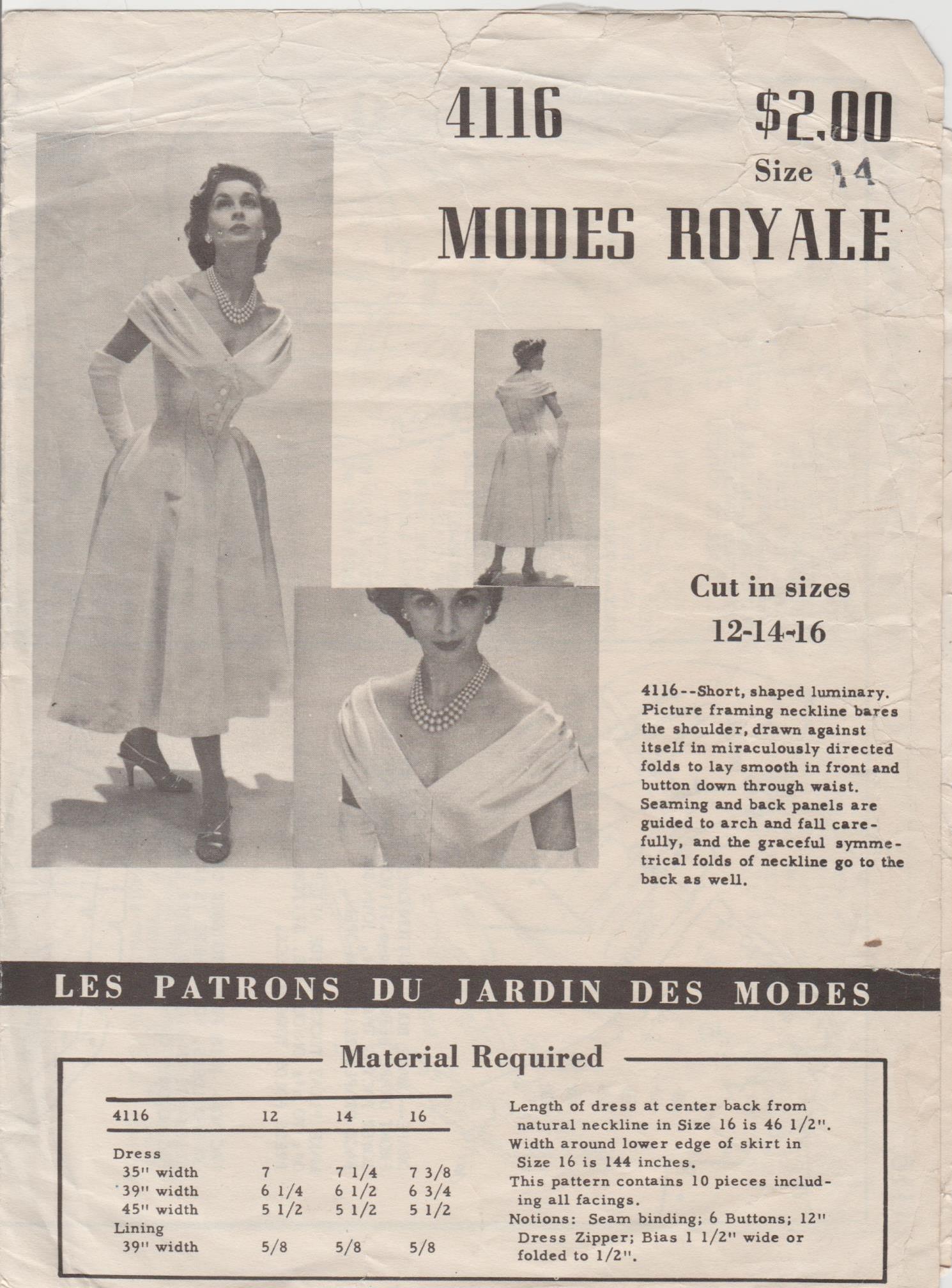 Modes Royale 4116