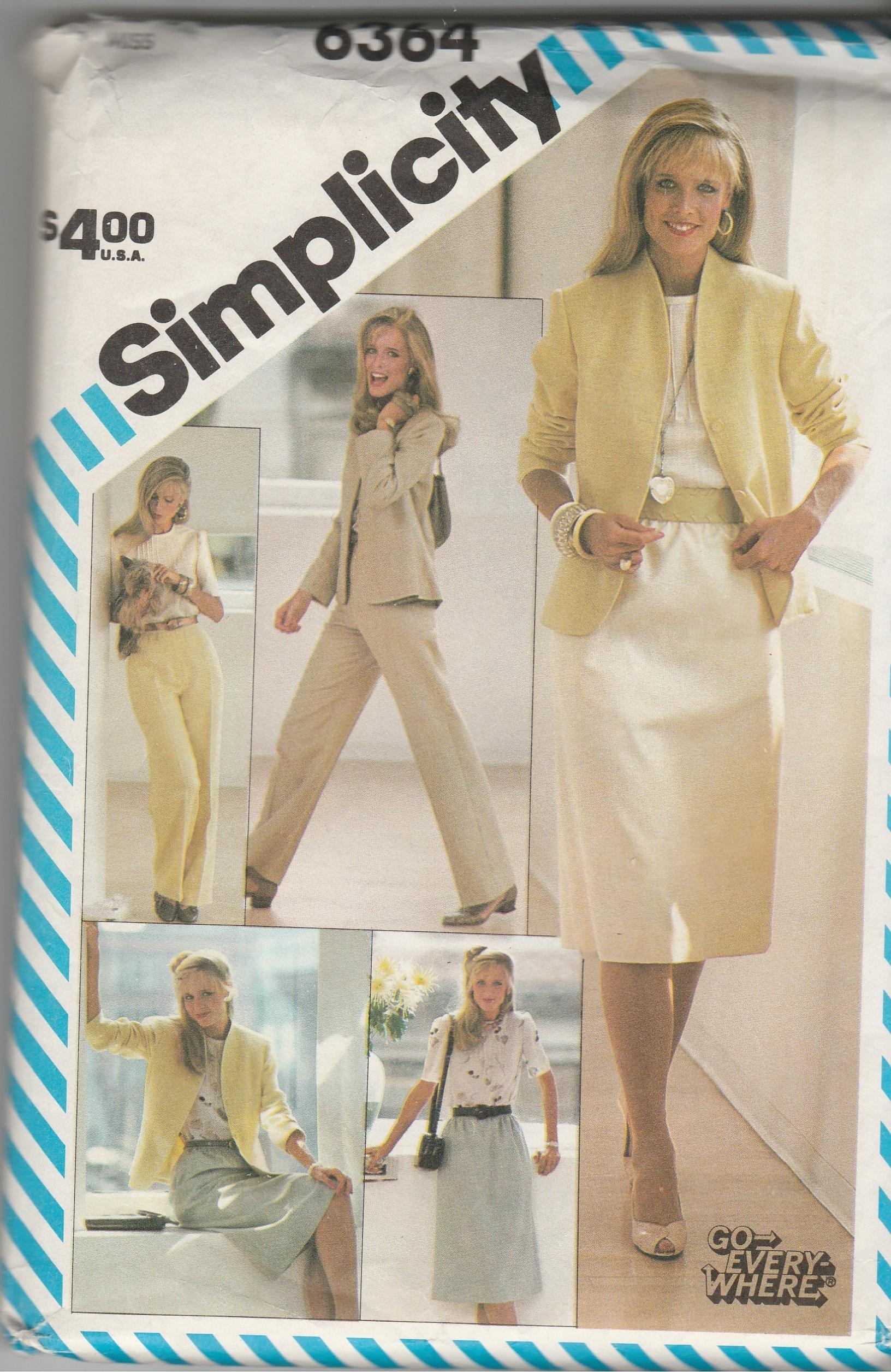 Simplicity 6364 B