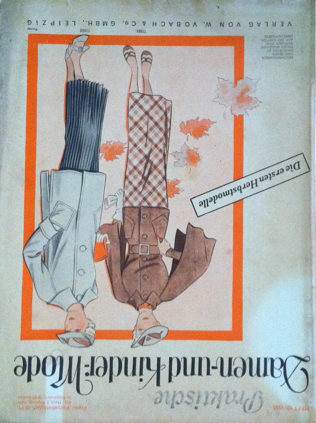 Praktische Damen- und Kinder-Mode No. 13 1935