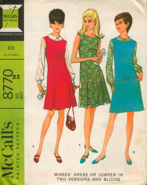 McCall's 8770 A