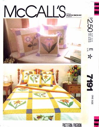 McCall's 7191 A