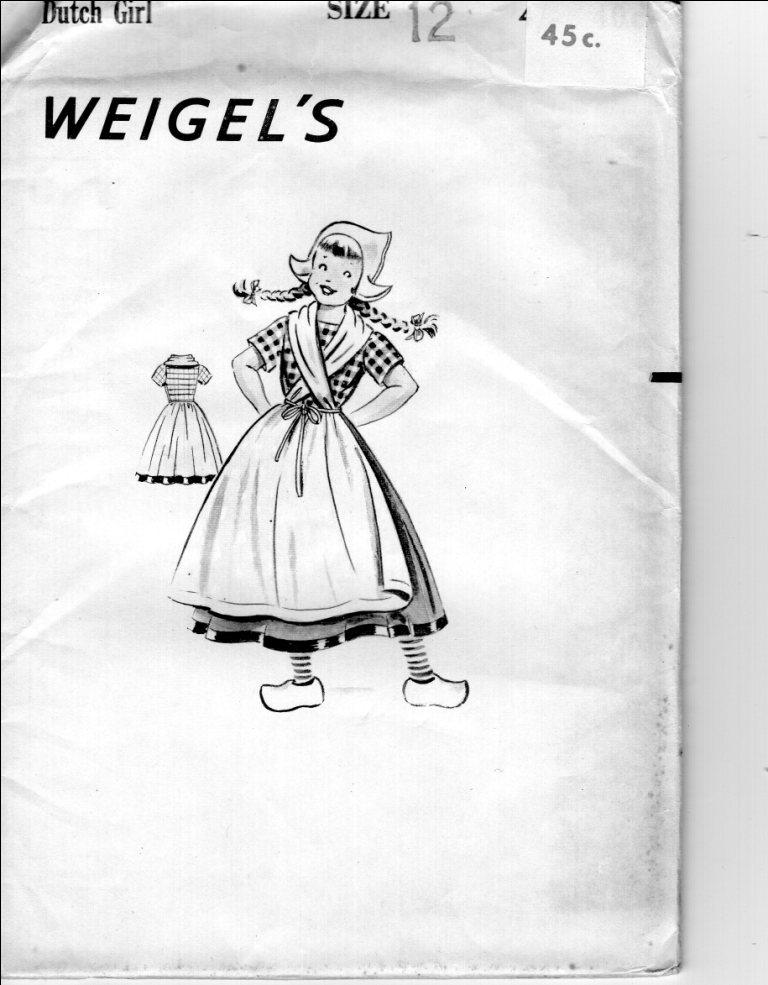 Weigel's Dutch Girl