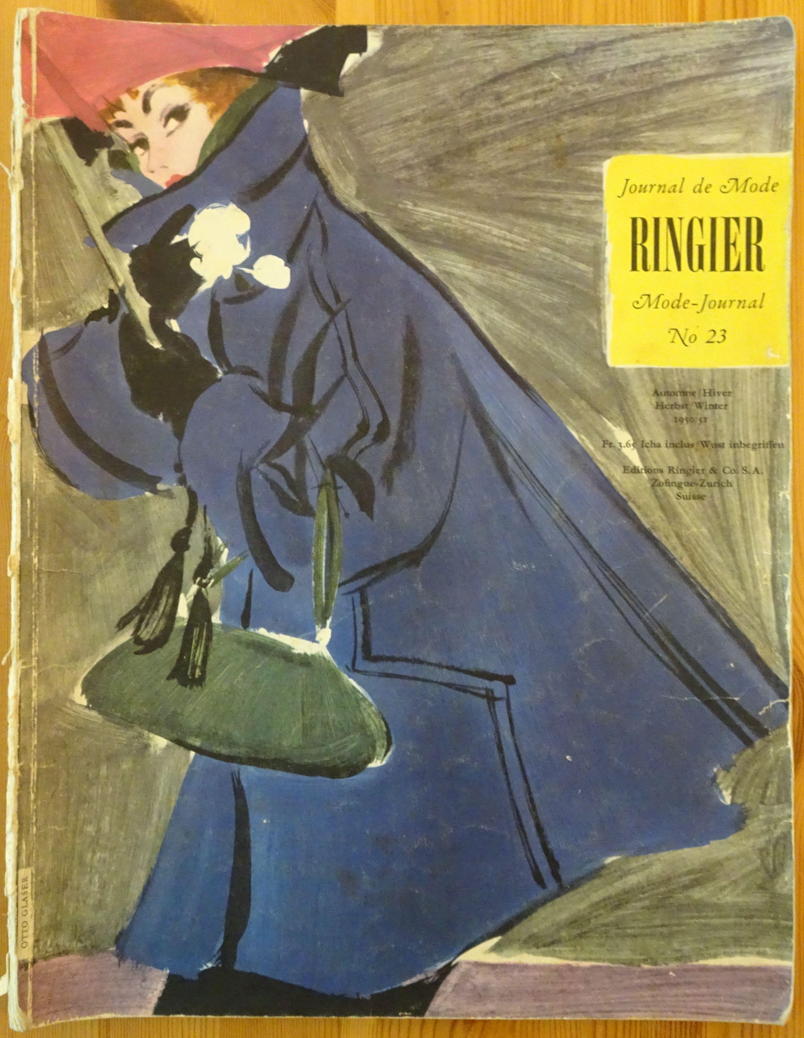 Ringier Journal de Mode Autumn/Winter 1950/51