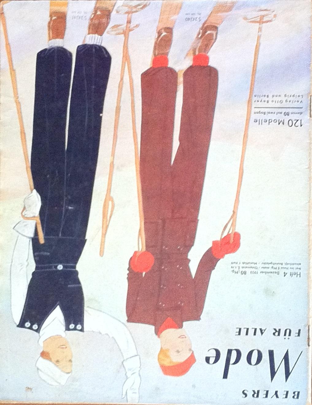 Beyers Mode für Alle No. 4 1933