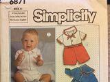 Simplicity 6871 A