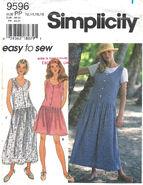 Simplicity 9596 B