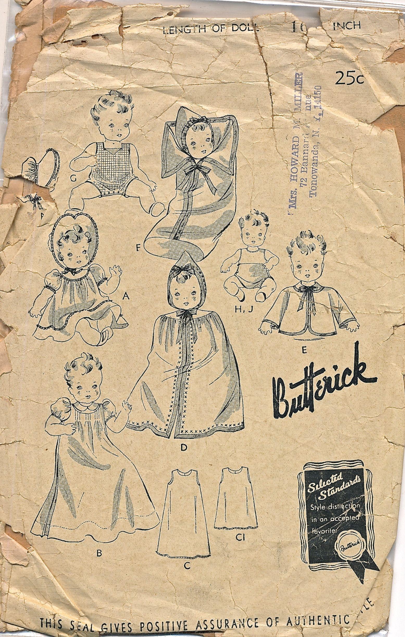 Butterick 455 A