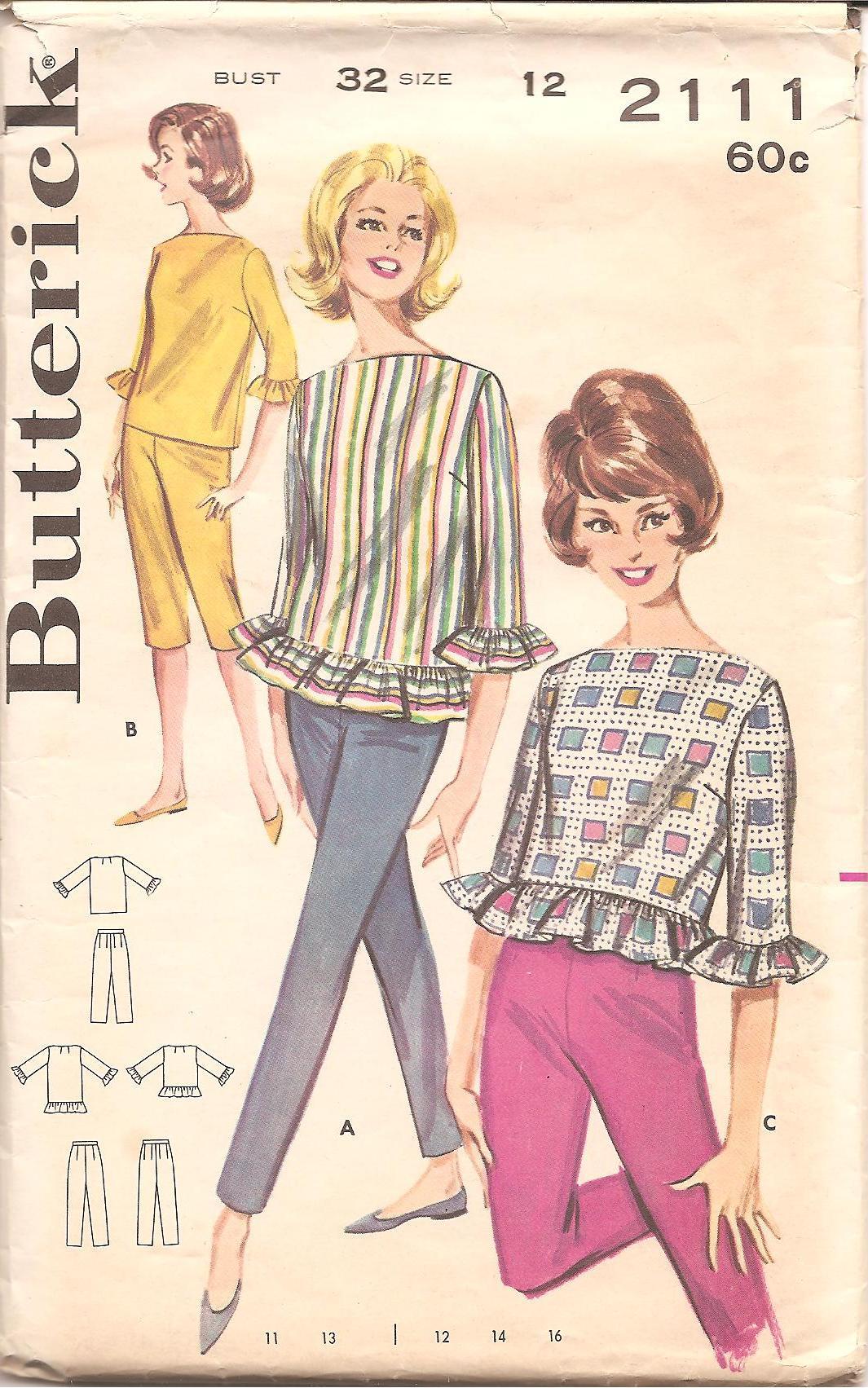 Butterick 2111