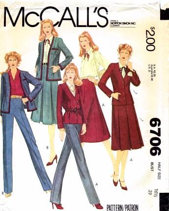 McCall's 6706