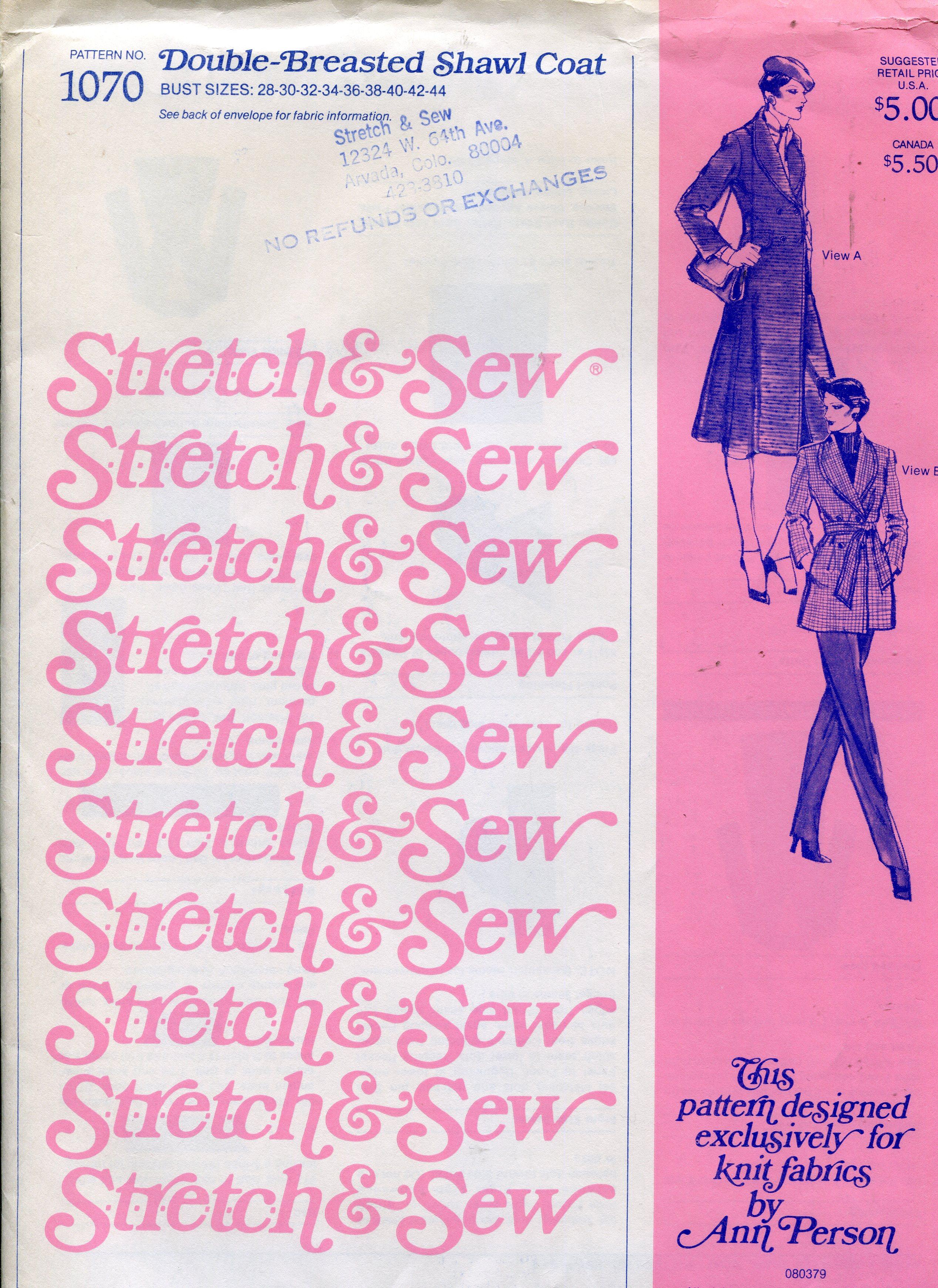 Stretch & Sew 1070