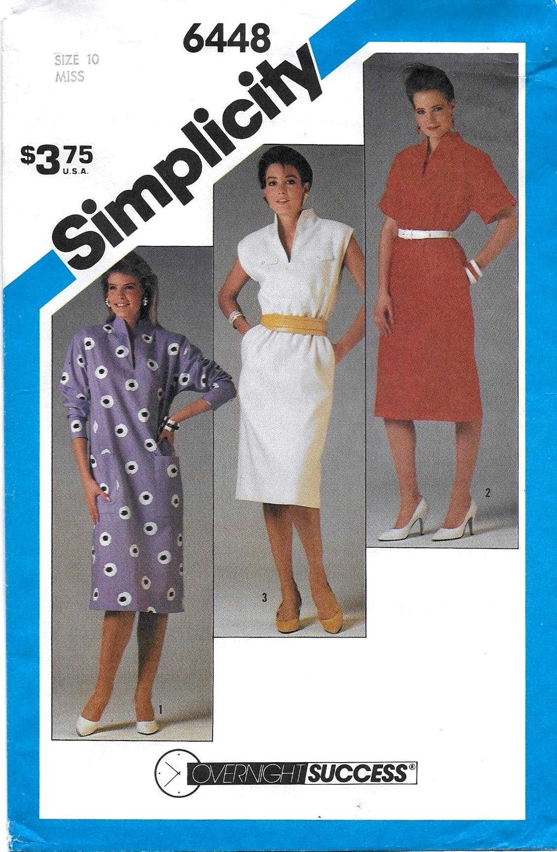 Simplicity 6448 A