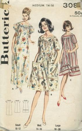Butterick 3086 B