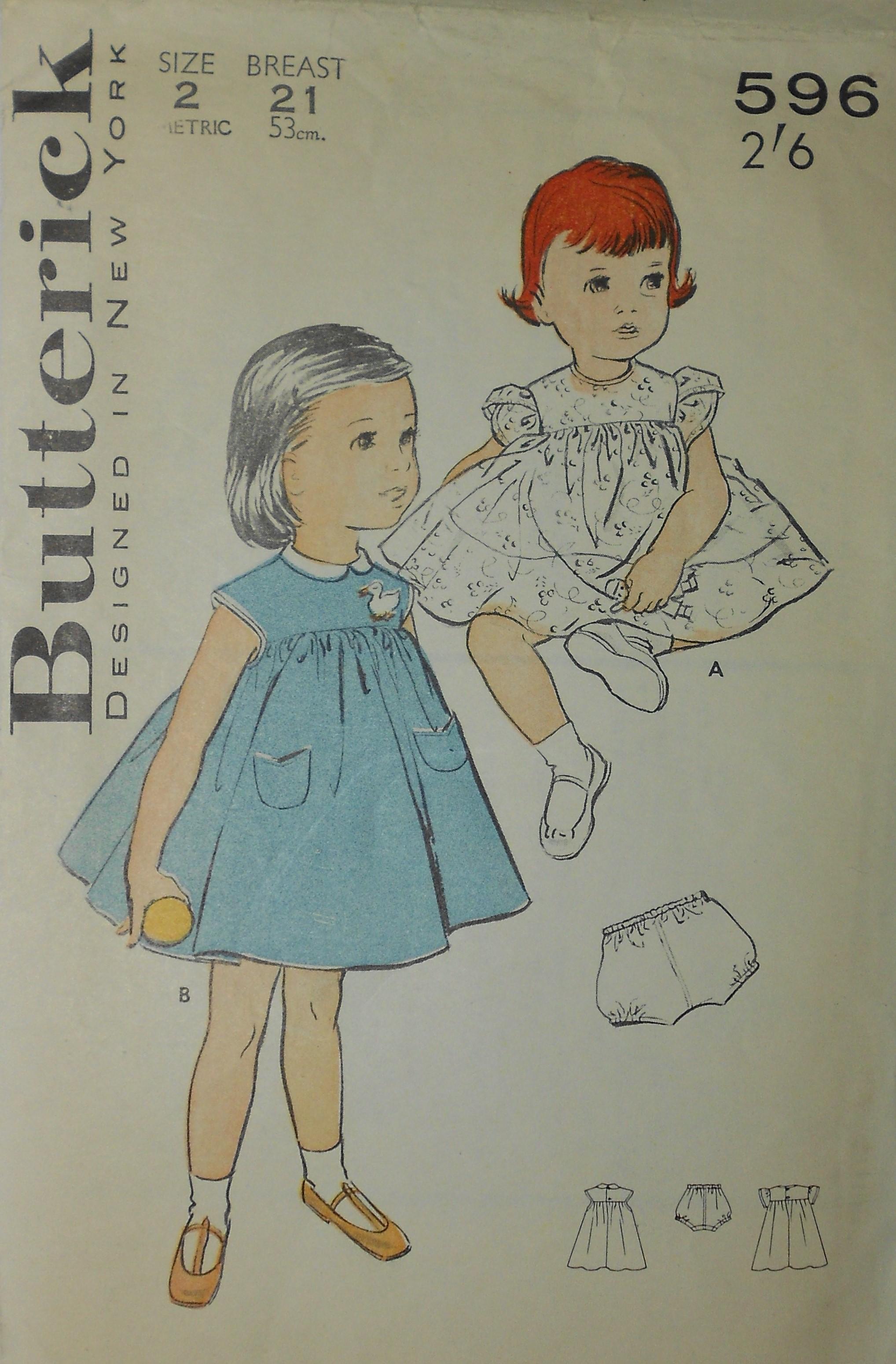 Butterick 596